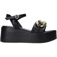 Schoenen Dames Sandalen / Open schoenen Grace Shoes 136007 Zwart