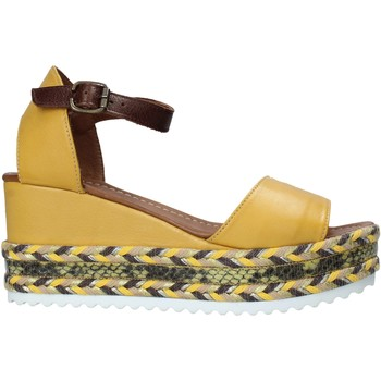 Schoenen Dames Sandalen / Open schoenen Bueno Shoes 21WQ6000 Geel