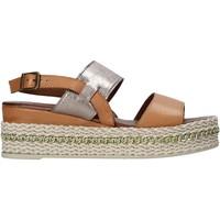 Schoenen Dames Sandalen / Open schoenen Bueno Shoes 21WS5200 Bruin