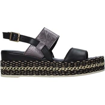 Schoenen Dames Sandalen / Open schoenen Bueno Shoes 21WS5200 Zwart