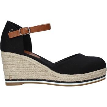 Schoenen Dames Espadrilles Refresh 72740 Zwart