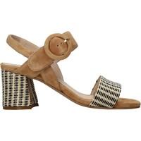 Schoenen Dames Sandalen / Open schoenen Carmens Padova 45107 Bruin