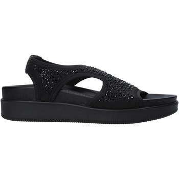 Schoenen Dames Sandalen / Open schoenen Enval 7281300 Zwart