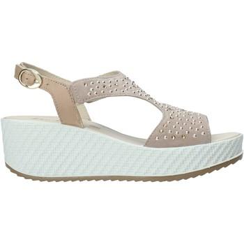 Schoenen Dames Sandalen / Open schoenen Enval 7280122 Beige
