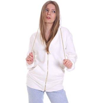 Textiel Dames Sweaters / Sweatshirts Cristinaeffe 4963 Wit
