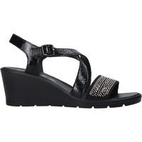 Schoenen Dames Sandalen / Open schoenen Enval 7279100 Zwart