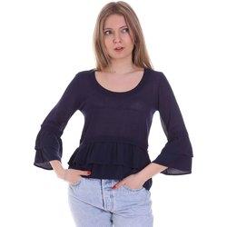 Textiel Dames Tops / Blousjes Café Noir JM6150 Blauw