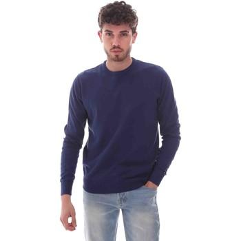 Textiel Heren Truien Key Up 2M50U 0001 Blauw