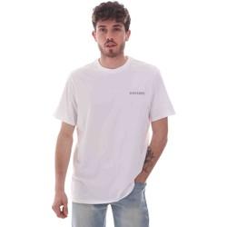 Textiel Heren T-shirts korte mouwen Dockers 27406-0115 Wit
