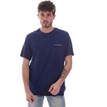 Textiel Heren T-shirts korte mouwen Dockers 27406-0116 Blauw