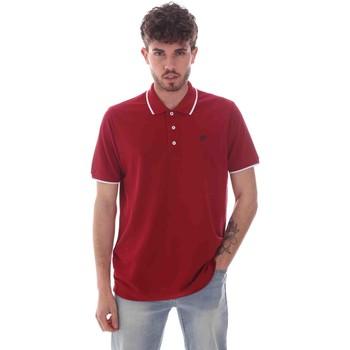 Textiel Heren Polo's korte mouwen Key Up 2Q711 0001 Rood