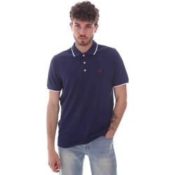 Textiel Heren Polo's korte mouwen Key Up 2Q711 0001 Blauw