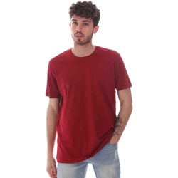 Textiel Heren T-shirts korte mouwen Key Up 2M915 0001 Rood