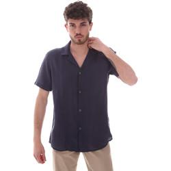 Textiel Heren Overhemden korte mouwen Sseinse CE588SS Blauw