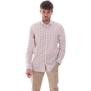 Textiel Heren Overhemden lange mouwen Sseinse CE620SS Wit