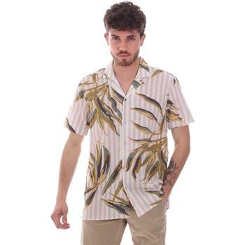 Textiel Heren Overhemden korte mouwen Sseinse CE661SS Beige