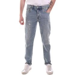 Textiel Heren Straight jeans Sseinse PJE764SS Blauw