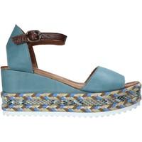 Schoenen Dames Sandalen / Open schoenen Bueno Shoes 21WQ6000 Blauw
