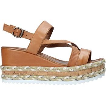 Schoenen Dames Sandalen / Open schoenen Bueno Shoes 21WQ6002 Bruin