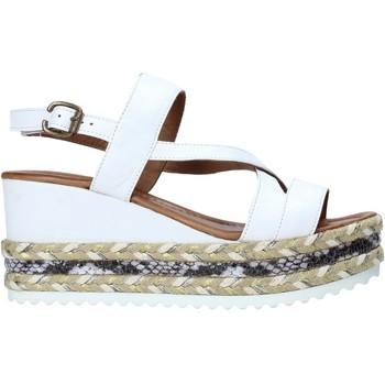 Schoenen Dames Sandalen / Open schoenen Bueno Shoes 21WQ6002 Wit