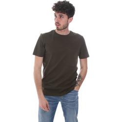 Textiel Heren T-shirts korte mouwen Antony Morato MMKS02023 FA100229 Groen