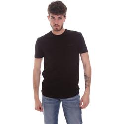 Textiel Heren T-shirts korte mouwen Antony Morato MMKS01855 FA120022 Zwart