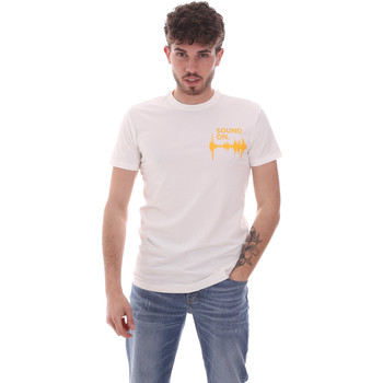 Textiel Heren T-shirts korte mouwen Antony Morato MMKS02002 FA120001 Wit
