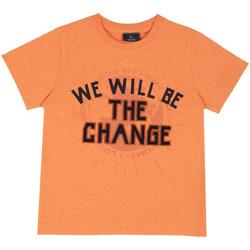 Textiel Kinderen T-shirts korte mouwen Chicco 09067318000000 Oranje