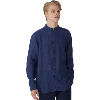 Textiel Heren Overhemden lange mouwen Trussardi 52C00154-1T002248 Blauw