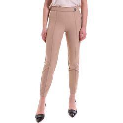Textiel Dames Leggings Cristinaeffe 0410 2121 Beige