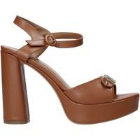 Schoenen Dames Sandalen / Open schoenen Alviero Martini E129 8578 Bruin