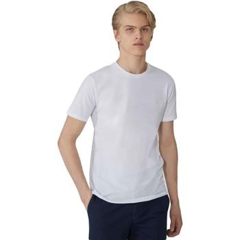 Textiel Heren T-shirts korte mouwen Trussardi 52T00499-1T003614 Wit