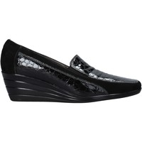 Schoenen Dames Mocassins Confort 3781 Zwart