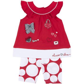Textiel Meisjes Setjes Chicco 09076643000000 Rood