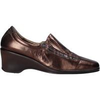 Schoenen Dames Mocassins Confort 6309 Bruin