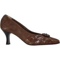 Schoenen Dames pumps Confort 6260 Bruin
