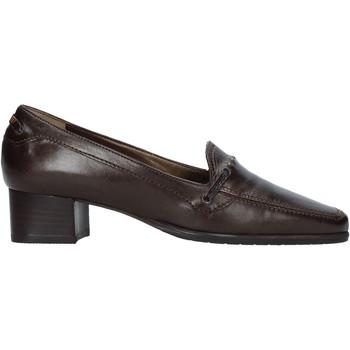 Schoenen Dames Mocassins Confort 6395 Bruin