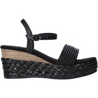 Schoenen Dames Sandalen / Open schoenen Café Noir XA9201 Zwart