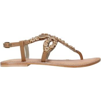 Schoenen Dames Sandalen / Open schoenen Café Noir XB1090 Bruin