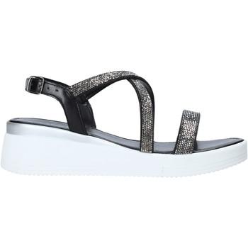 Schoenen Dames Sandalen / Open schoenen Café Noir XL9161 Zwart