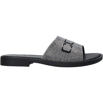 Schoenen Meisjes Leren slippers Cult DREAM Zwart