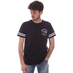 Textiel Heren T-shirts korte mouwen Navigare NV31123 Blauw