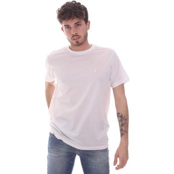 Textiel Heren T-shirts korte mouwen Navigare NV71003 Wit