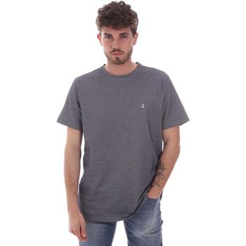 Textiel Heren T-shirts korte mouwen Navigare NV81007 Grijs