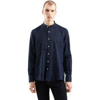 Textiel Heren Overhemden lange mouwen Refrigiwear RM0C10100LI9110 Blauw