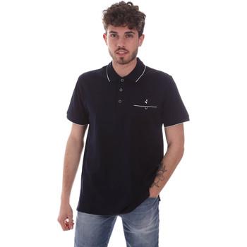 Textiel Heren Polo's korte mouwen Navigare NV72068 Blauw