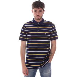 Textiel Heren Polo's korte mouwen Navigare NV70029 Blauw