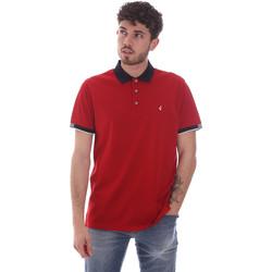 Textiel Heren Polo's korte mouwen Navigare NV72058 Rood