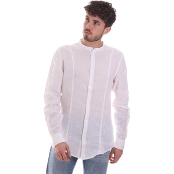 Textiel Heren Overhemden lange mouwen Gaudi 111GU45006 Wit