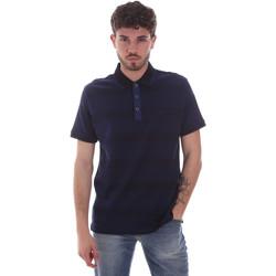 Textiel Heren Polo's korte mouwen Navigare NV70035 Blauw